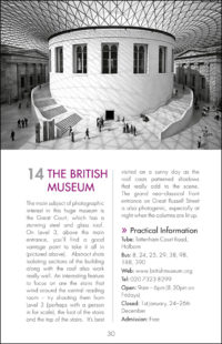The Photographers Guide to London - Sample Page 1